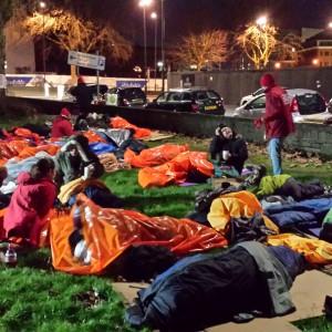BrisDoc raise over £6000 for local homeless charity via the Sleepout 2017