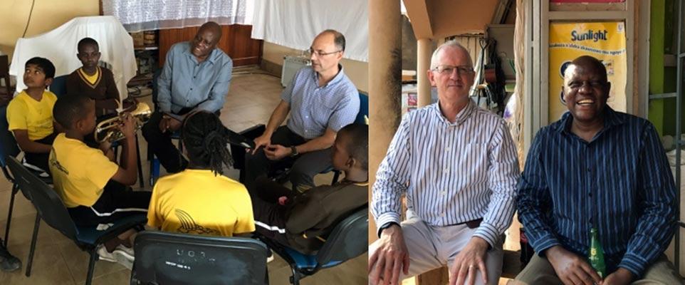 Ray and Mike, Project Uganda - BrisDoc