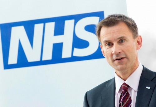 Jeremy Hunt Secretary of State for Health