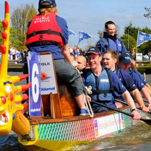 Team BrisDoc Dragon Boat Racing