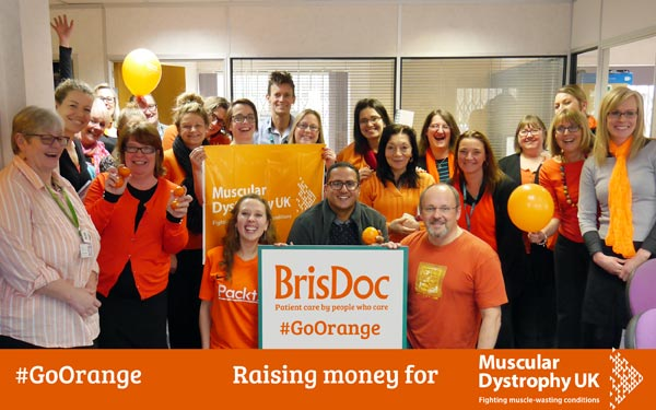 "On the 6th February team members at BrisDoc's Head Office took part in ""Go Orange Day""."