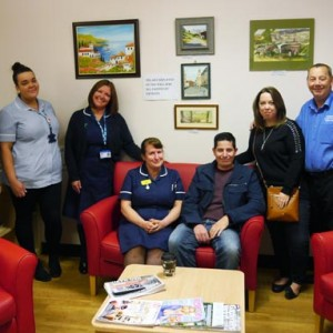 New Stroke Ward Family Rooms at the BRI in memory of Julie Bridges