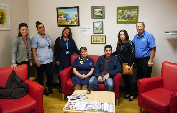 New Stroke Ward Family Rooms at the BRI in memory of Julie Bridges