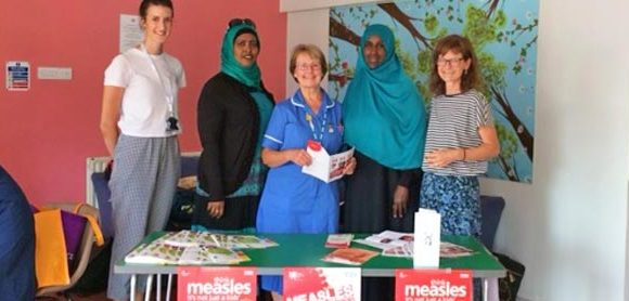 Raising awareness of Measles and MMR vaccination within Somali communities