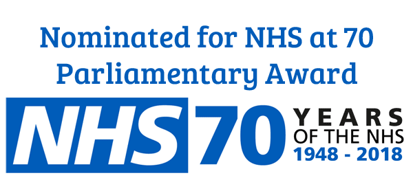 Homeless Health Nominated for NHS at 70 Parliamentary Award