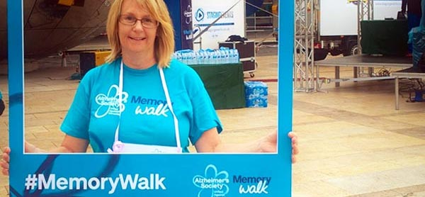 Val Rodrigues completes Memory Walk 2018