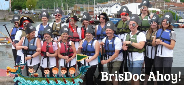 Congratulations to our Dragon Boat Racers – Team BrisDoc Ahoy!