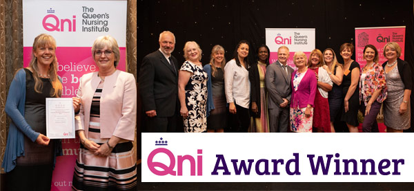 Homeless Health's Claire O'Connell wins award from the Queen's Nursing Institute