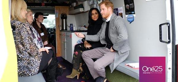 A royal visit at One25