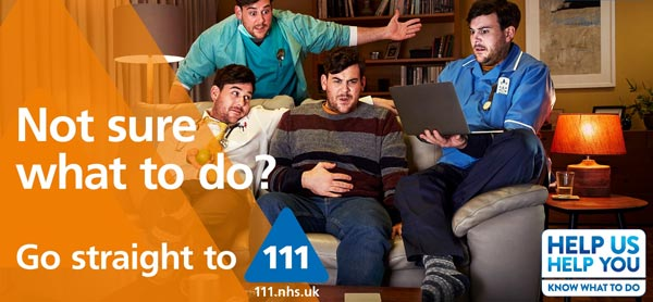 Need urgent medical advice? Contact NHS111