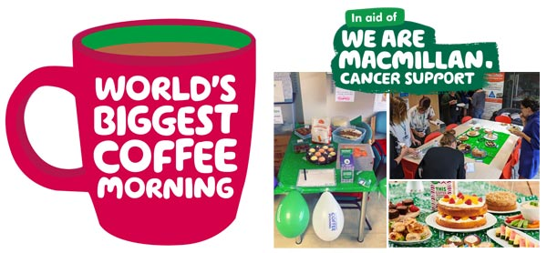 Let's brew this! Macmillan Coffee Morning