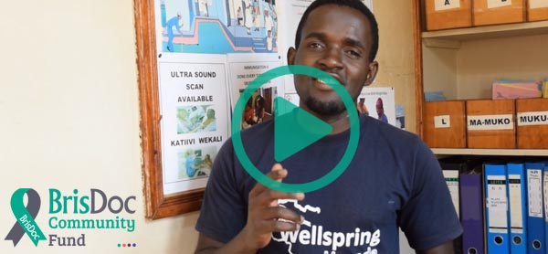 A thank you message from Wellsprings Uganda