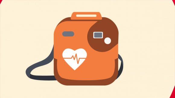 Defibrillator donated to G.B Britton Bowls Club