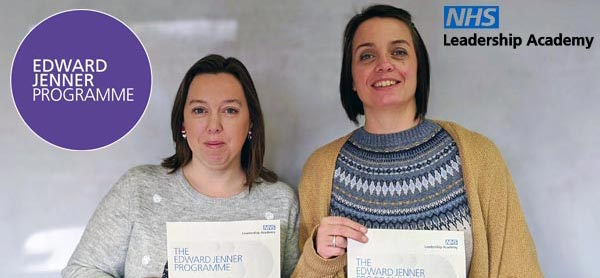 Congratulations to Sarah Pearce & Sam Hill on passing the Edward Jenner – NHS Leadership Programme