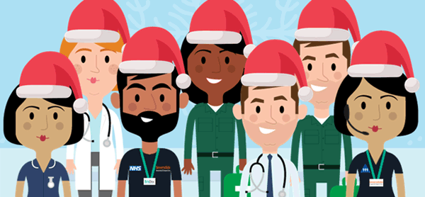 Thank you to all the NHS staff working over the festive period