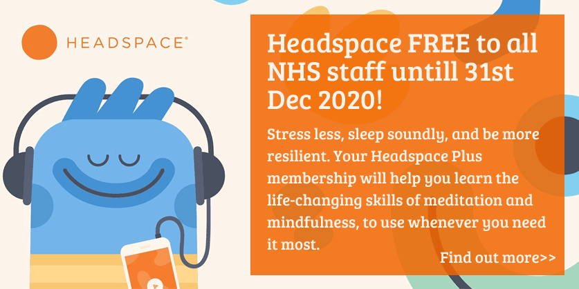 Headspace Free to NHS Staff