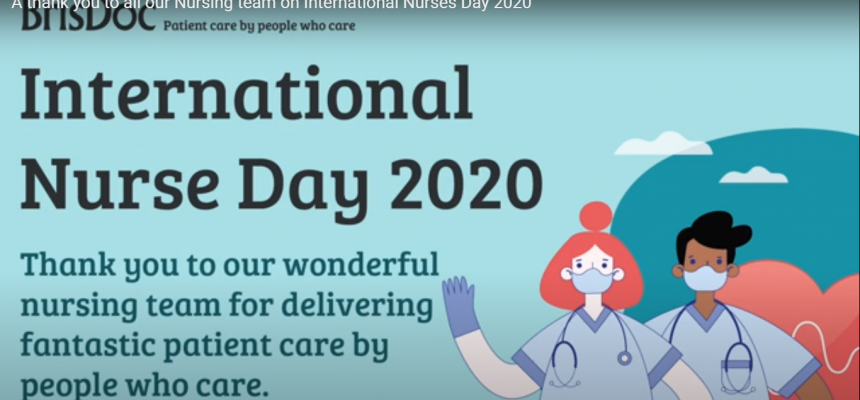 BrisDoc Celebrations for International Nurses Day